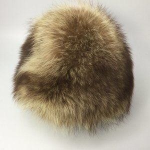 Fox Fur Hat Women's M